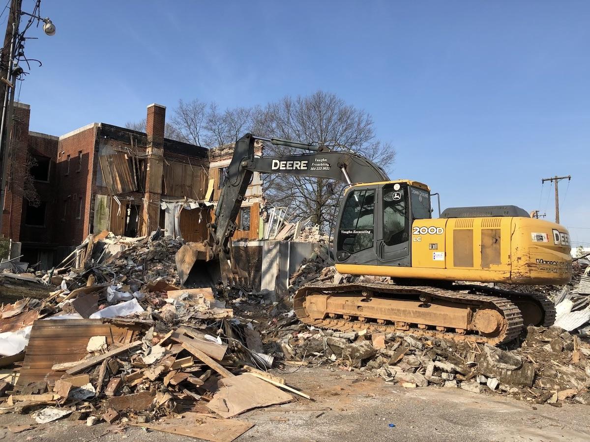 SCHD Demolition Teardown Laurens - Middle